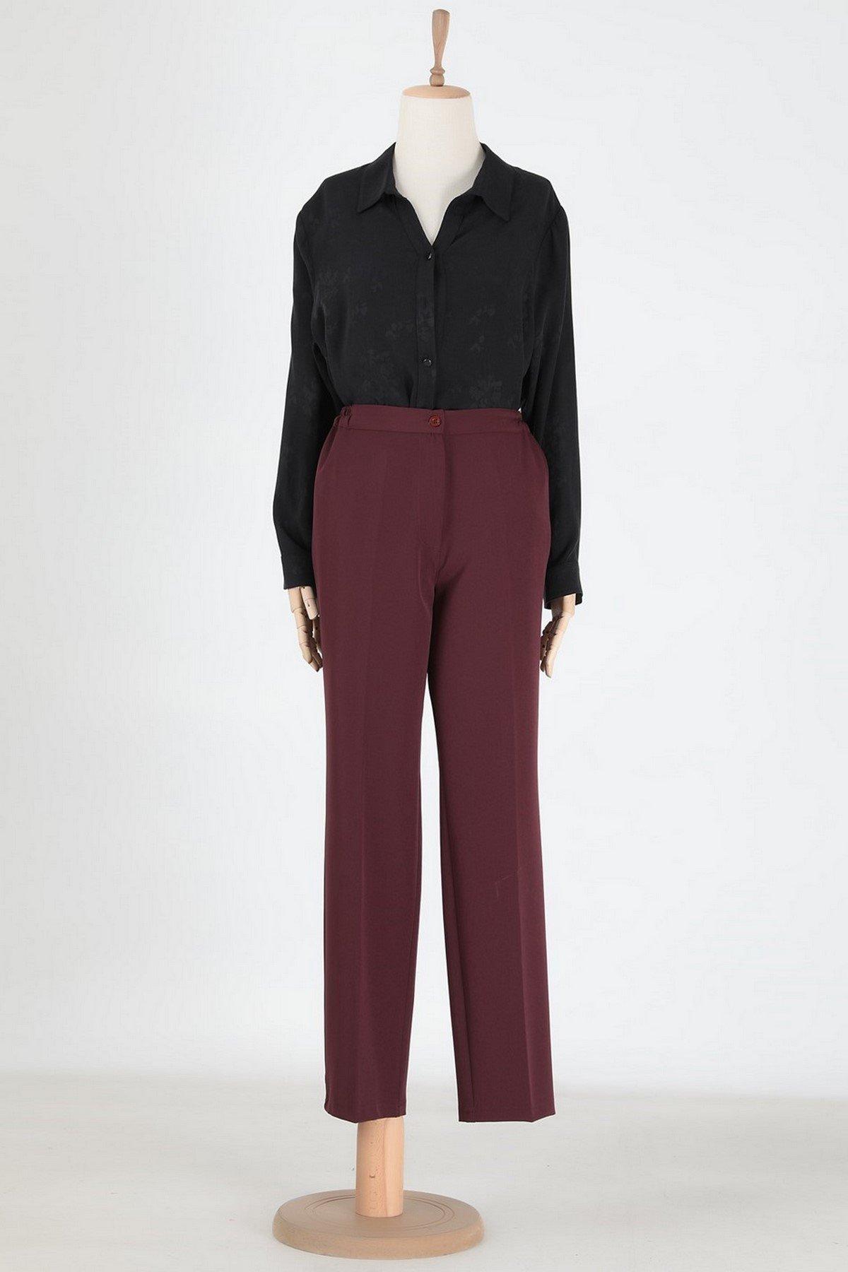 Fa Yüksek Bel Kadın Pantolon
